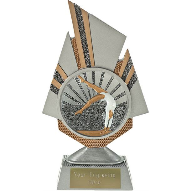 "Shard Female Gymnastics Trophy 19.5cm (7.75"")"