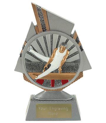 """Shard Male Gymnastics Trophy 15cm (6"""")"""