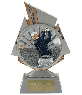"Shard Golf Trophy 15cm (6"")"