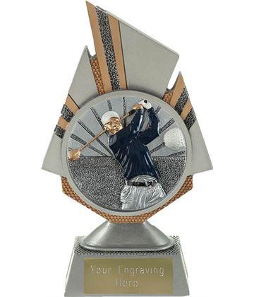 """Shard Golf Trophy 17.5cm (6.75"""")"""
