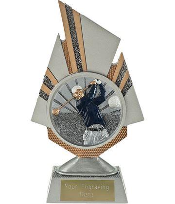 """Shard Golf Trophy 19.5cm (7.75"""")"""
