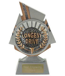 "Shard Longest Drive Golf Trophy 15cm (6"")"