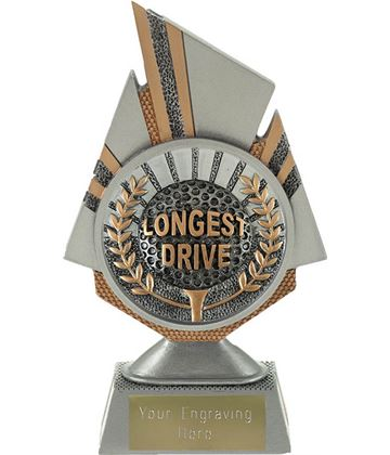 "Shard Longest Drive Golf Trophy 17.5cm (6.75"")"