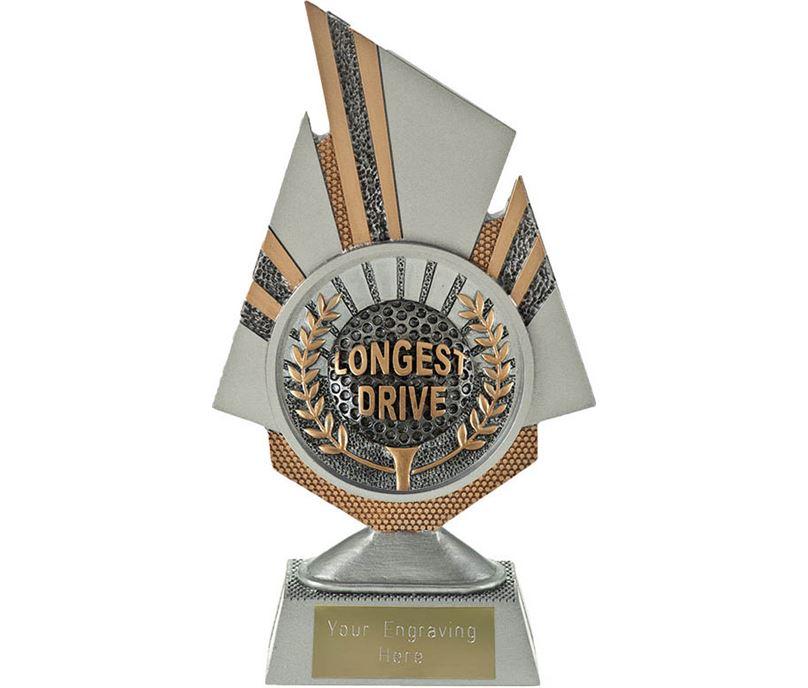 "Shard Longest Drive Golf Trophy 19.5cm (7.75"")"