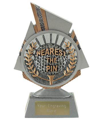 """Shard Nearest the Pin Golf Trophy 15cm (6"""")"""