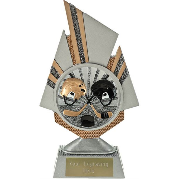 "Shard Ice Hockey Trophy 19.5cm (7.75"")"