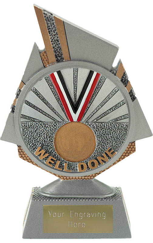 """Shard Well Done Trophy 15cm (6"""")"""