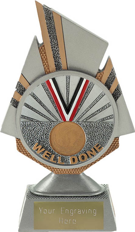 """Shard Well Done Trophy 17.5cm (6.75"""")"""