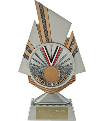 """Shard Well Done Trophy 19.5cm (7.75"""")"""