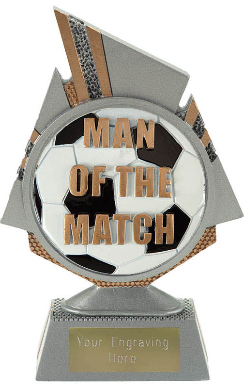 "Shard Man of the Match Trophy 15cm (6"")"
