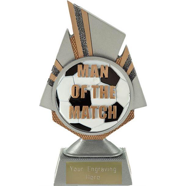 "Shard Man of the Match Trophy 17.5cm (6.75"")"