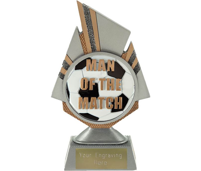 "Shard Man of the Match Trophy 17.5cm (6.75"")"