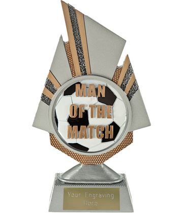 "Shard Man of the Match Trophy 19.5cm (7.75"")"