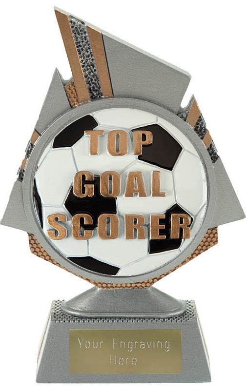 "Shard Top Goal Scorer Trophy 15cm (6"")"