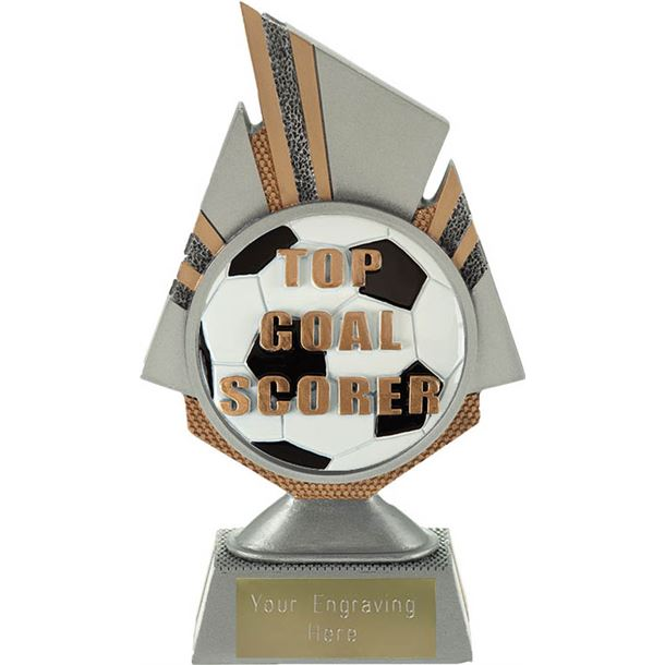 "Shard Top Goal Scorer Trophy 17.5cm (6.75"")"