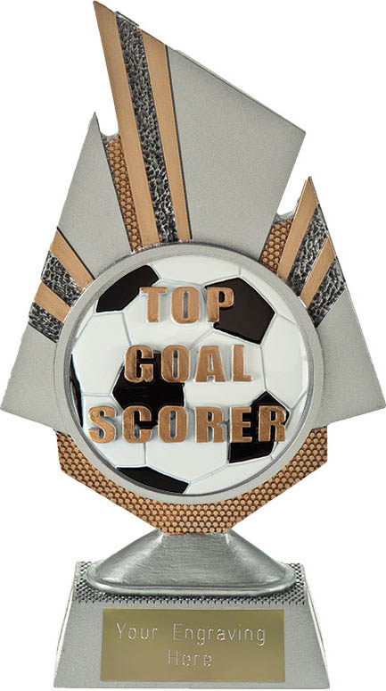 "Shard Top Goal Scorer Trophy 19.75cm (7.75"")"