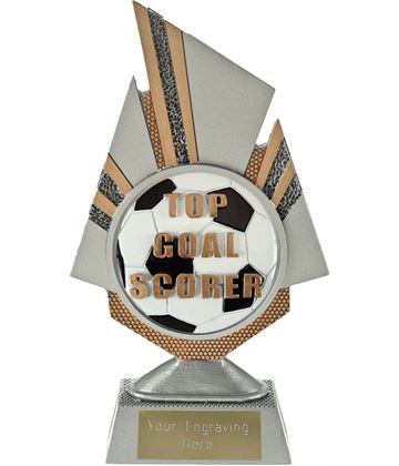 "Shard Top Goal Scorer Trophy 19.75cm (7.75"")"