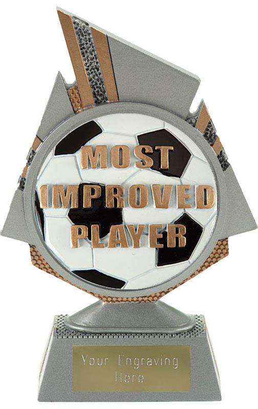 "Shard Most Improved Player Trophy 15cm (6"")"