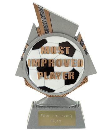 "Shard Most Improved Player Trophy 15cm (6"")"