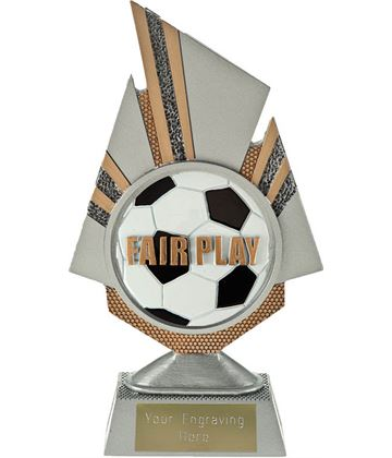 "Shard Fair Play Trophy 19.5cm (7.75"")"
