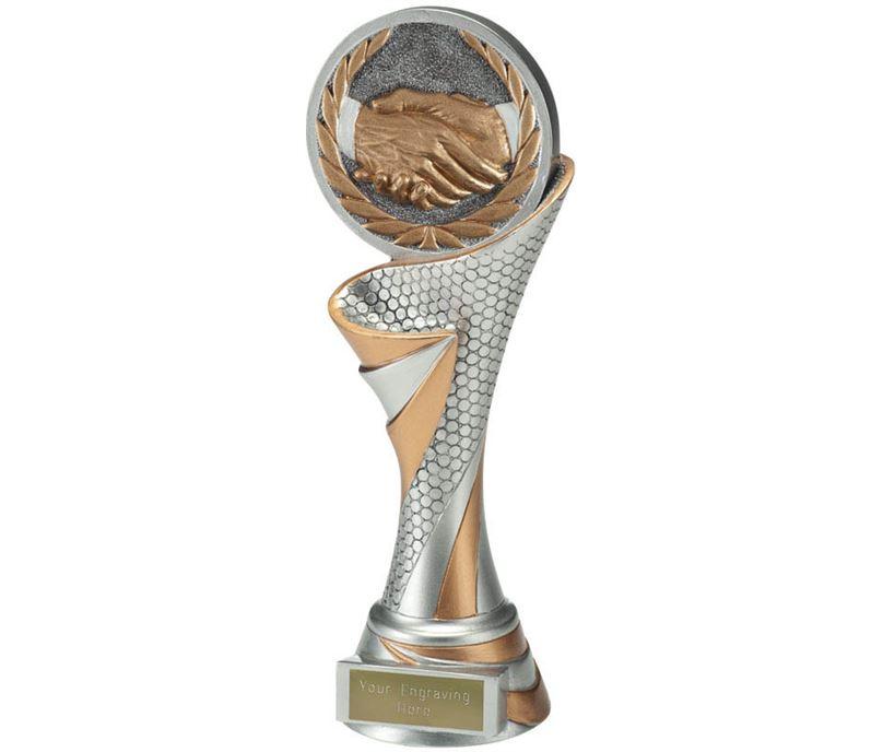 """Reach Handshake Trophy 22.5cm (8.75"""")"""