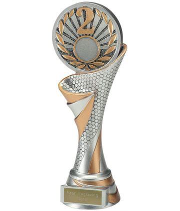 """Reach 2nd Place Trophy 22.5cm (8.75"""")"""