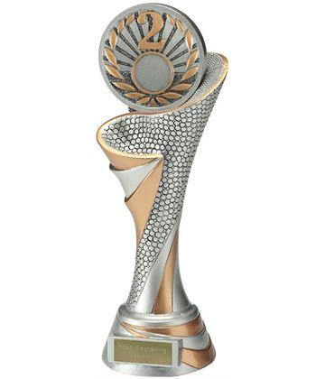 """Reach 2nd Place Trophy 26cm (10.25"""")"""