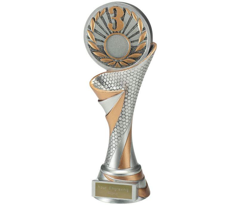 """Reach 3rd Place Trophy 22.5cm (8.75"""")"""