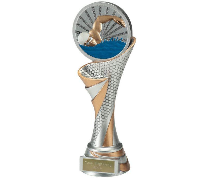 "Reach Swimmer Trophy 22.5cm (8.75"")"