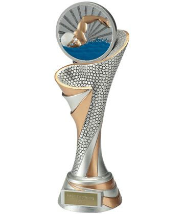 "Reach Swimmer Trophy 26cm (10.25"")"