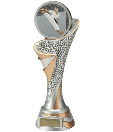 "Reach Karate Trophy 26cm (10.25"")"