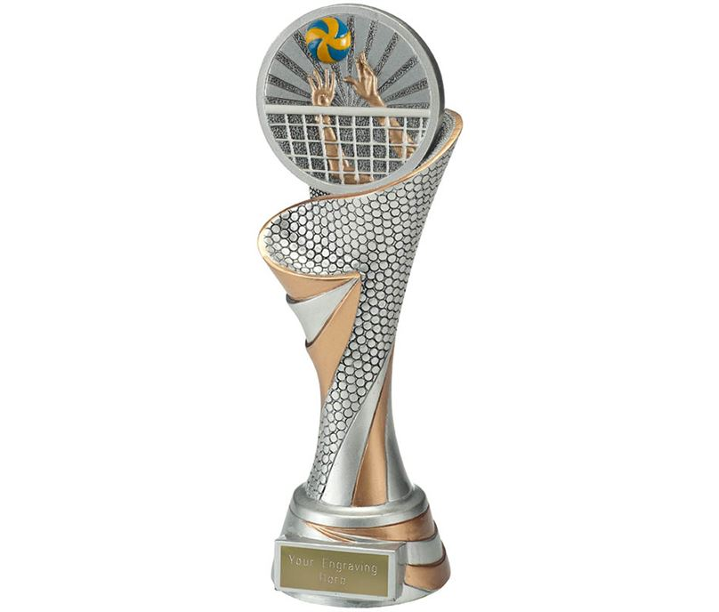 "Reach Volleyball Trophy 24.5cm (9.5"")"