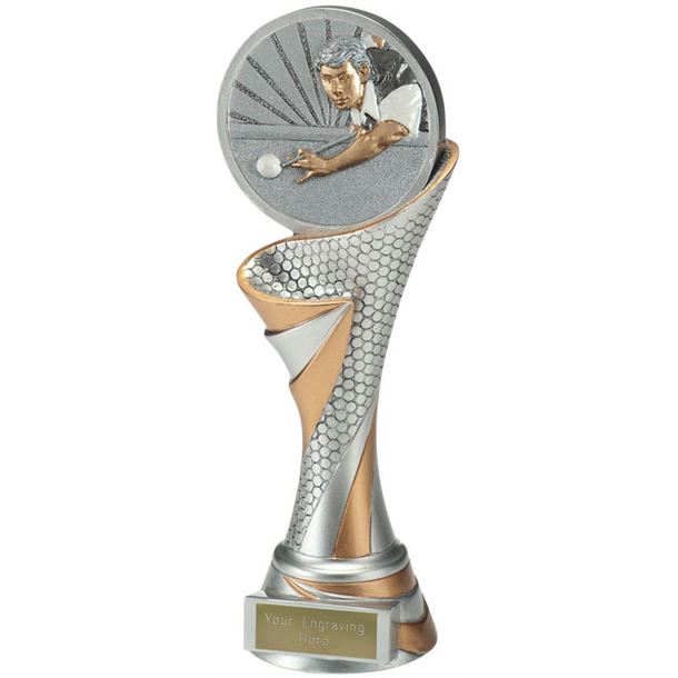"Reach Snooker Player Trophy 22.5cm (8.75"")"