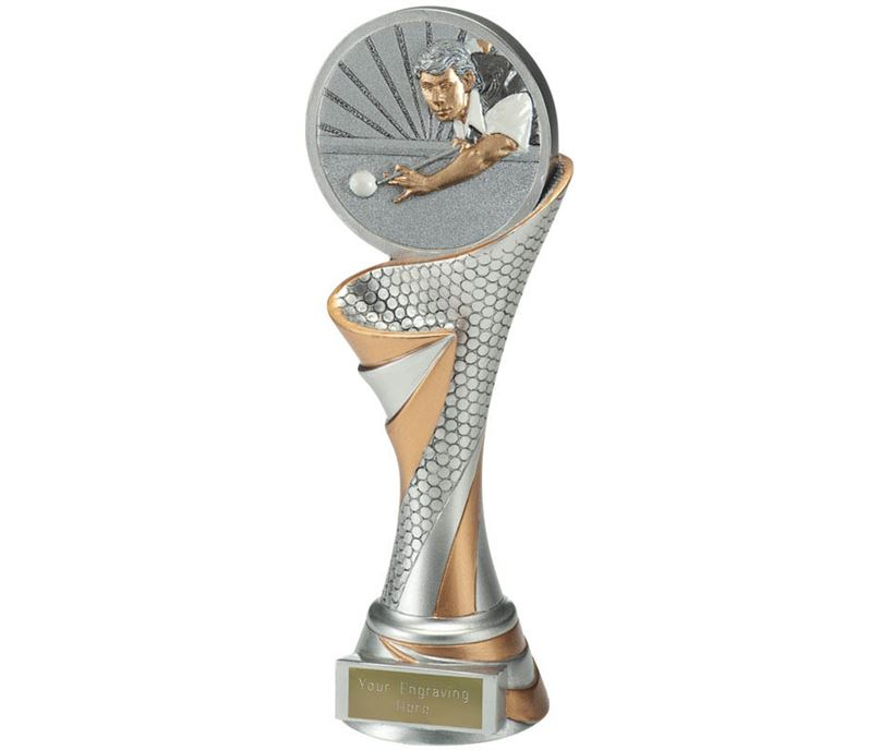 "Reach Snooker Player Trophy 22.5cm (8.75"")"