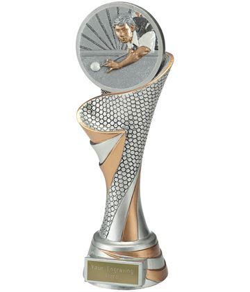 "Reach Snooker Player Trophy 24.5cm (9.5"")"