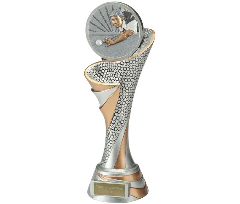 "Reach Snooker Player Trophy 26cm (10.25"")"