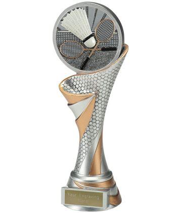 "Reach Badminton Trophy 22.5cm (8.75"")"