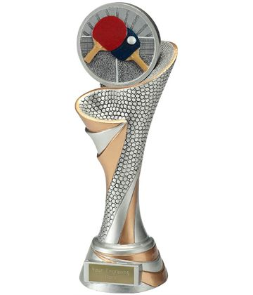 "Reach Table Tennis Trophy 26cm (10.25"")"
