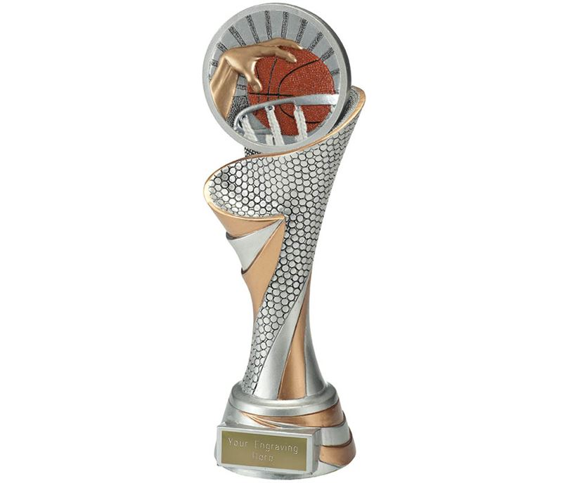 "Reach Basketball Trophy 24.5cm (9.5"")"