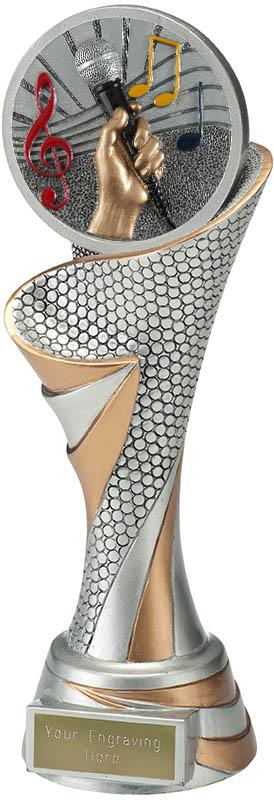 "Reach Music Trophy 24.5cm (9.5"")"
