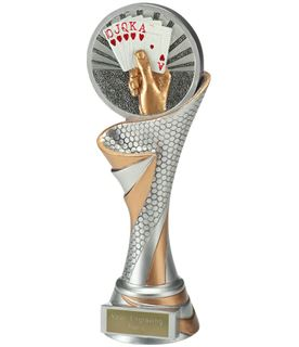 "Reach Cards Trophy 22.5cm (8.75"")"