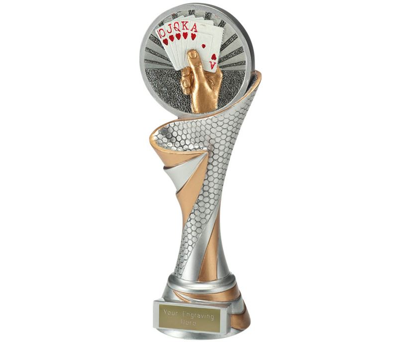 "Reach Cards Trophy 22.5cm (8.75"")"