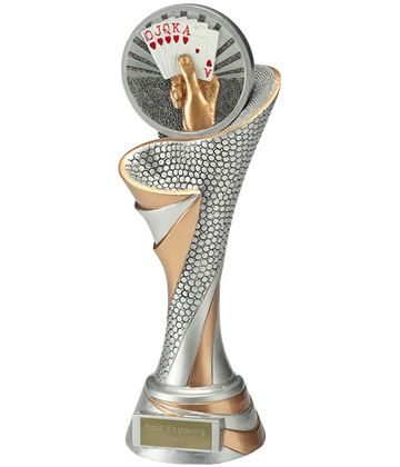 "Reach Cards Trophy 26cm (10.25"")"