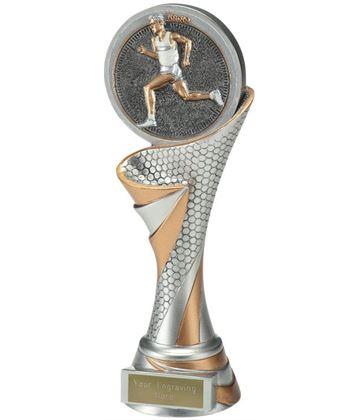 "Reach Male Running Trophy 22.5cm (8.75"")"