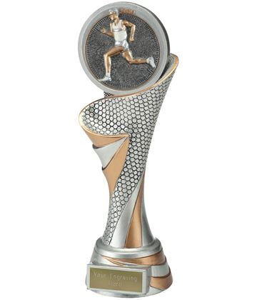 "Reach Male Running Trophy 24.5cm (9.5"")"