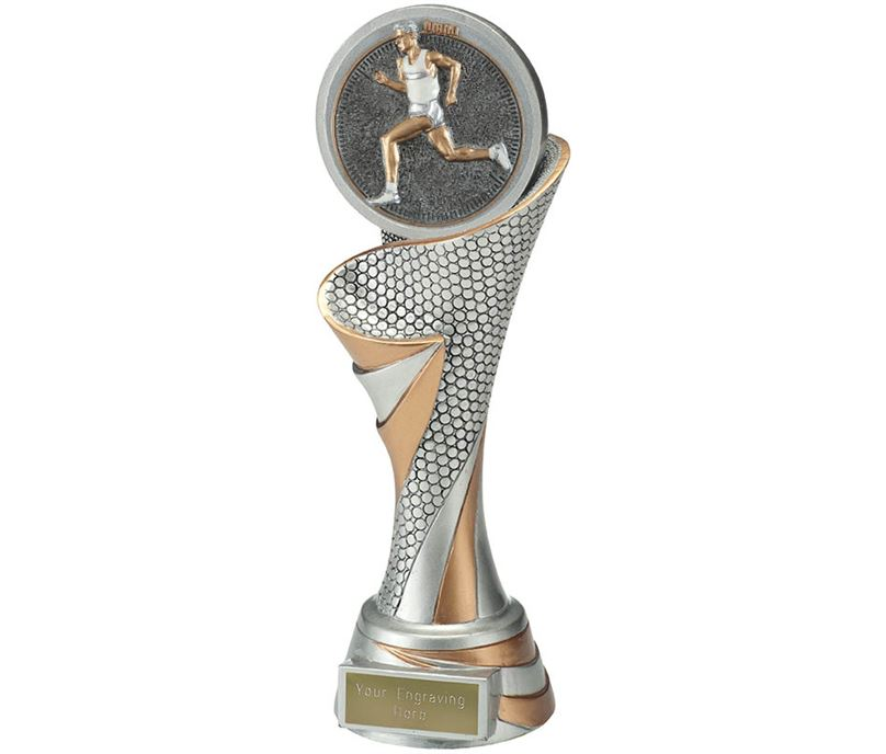 "Reach Male Running Trophy 24.5cm (9.5"")"