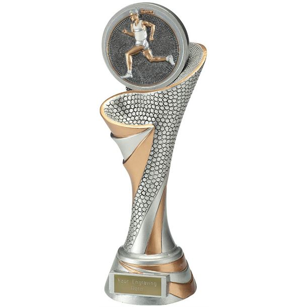 "Reach Male Running Trophy 26cm (10.25"")"