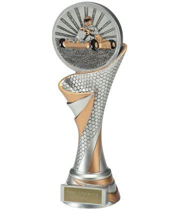 "Reach Go Karting Trophy 22.5cm (8.75"")"