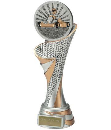 "Reach Go Karting Trophy 24.5cm (9.5"")"