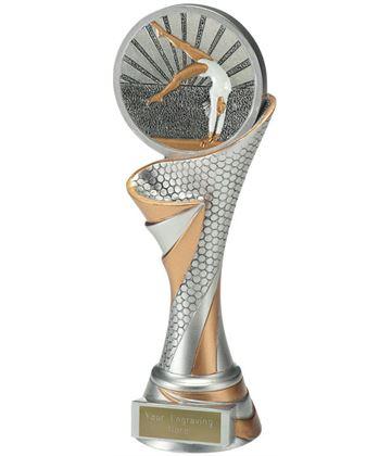 """Reach Female Gymnastics Trophy 22.5cm (8.75"""")"""